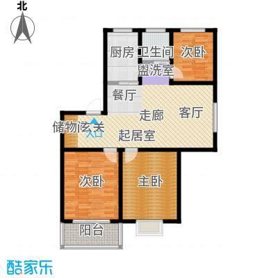 嘉恒新苑100.00㎡-户型