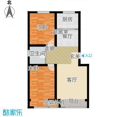 千缘爱语城94.00㎡C户型