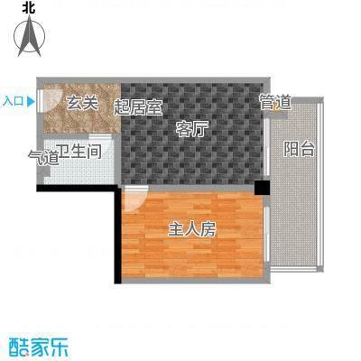 颐和雅轩61.35㎡南塔17-21层05单元户型