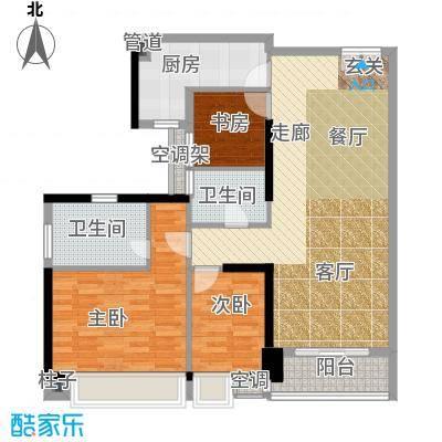 嘉宝华庭107.62㎡A05户型