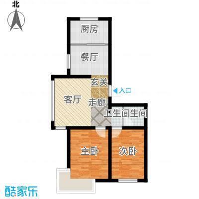 金鼎阳光苑82.00㎡B4户型