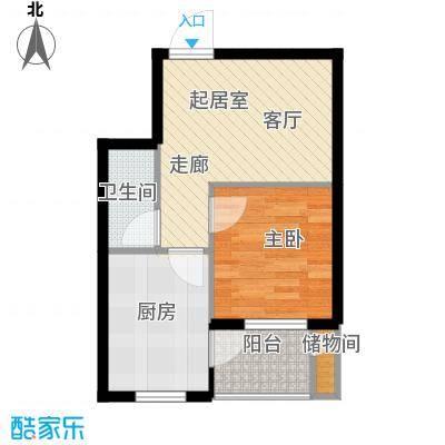 长安佳园46.00㎡户型