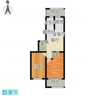 诗波特文化园81.76㎡户型