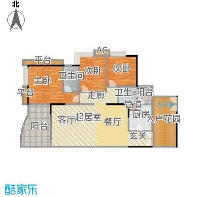 宏诚海岸花园143.23㎡宏耀轩1栋03单元户型