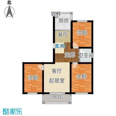 鑫丰馨园114.00㎡房型户型
