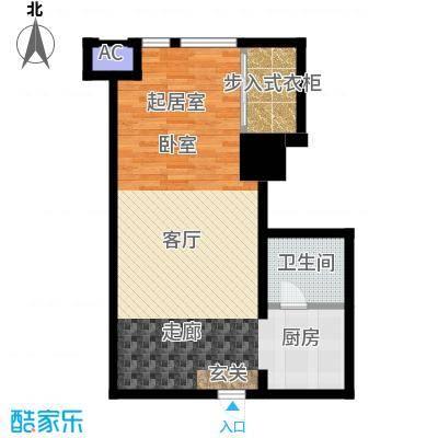 如意商务公寓59.00㎡K户型