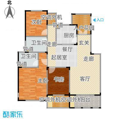 丹景廷116.00㎡花园洋房D户型