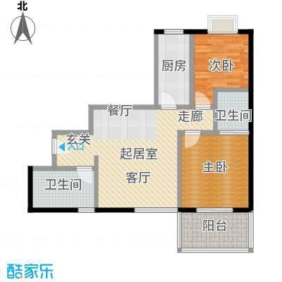 汉口中心嘉园B1户型