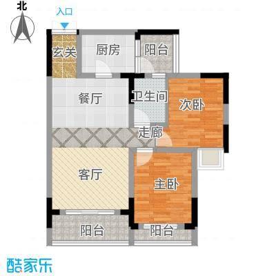 唐庄C-1(22)房户型