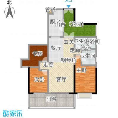 肯辛顿国际公寓03单元户型