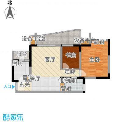 上海城二期户型