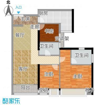 嘉宝华庭105.15㎡A04户型