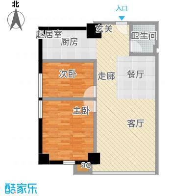 QQ生活馆104.00㎡户型