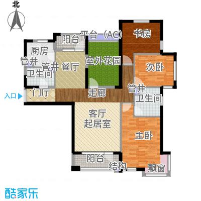 中海华庭152.00㎡高层D2户型