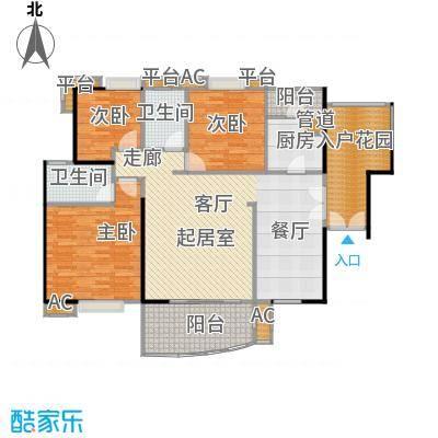 宏诚海岸花园139.62㎡宏耀轩1栋04单元户型