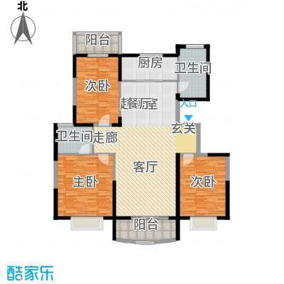 灞柳生态家园154.73㎡骞柳北二区31#楼户型