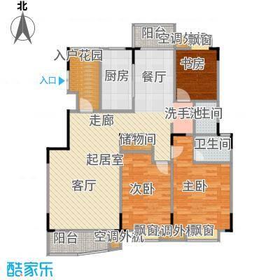 乡村花园南艳湾97.81㎡145m2户型