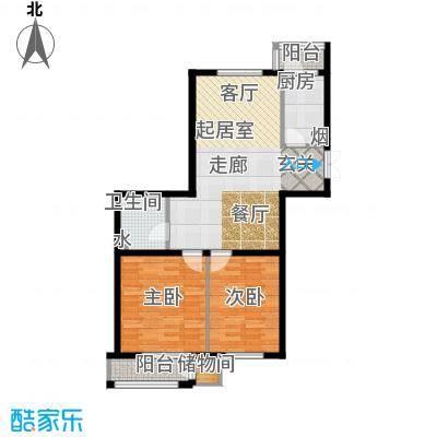 三江紫香园93.60㎡户型