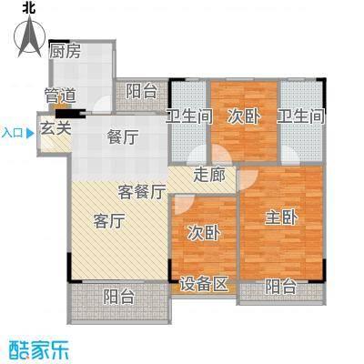 喜盈雅境5座标准层03单元/二层02单元户型