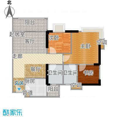 滨江瑞城A栋03单位户型