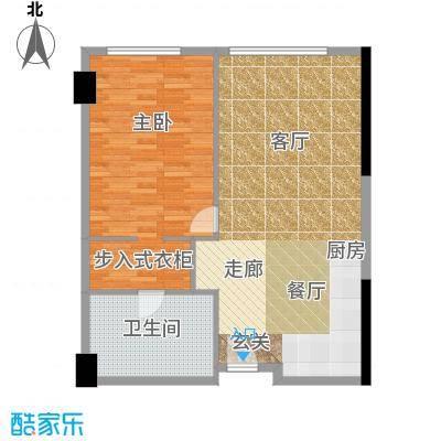 珠江时代广场83.94㎡B户型