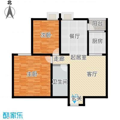 龙记帝景湾114.05㎡B2号楼A户型