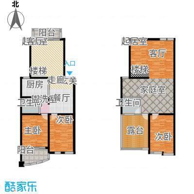 21世纪现代城户型3室2卫1厨
