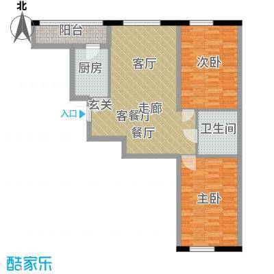 中顺和苑93.00㎡户型