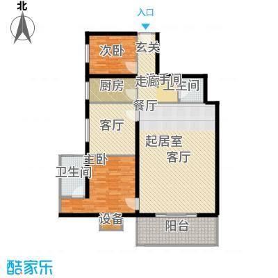 曲江雁唐府邸79.81㎡A型结构户型