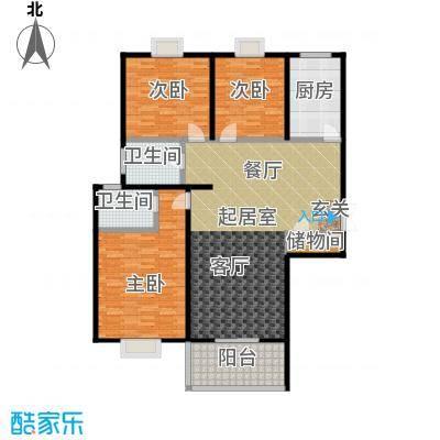 唐宫北苑139.53㎡户型