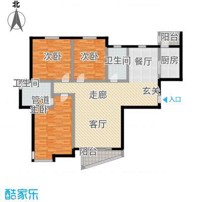 宝龙湾佳园160.00㎡宝龙湾F3号楼户型
