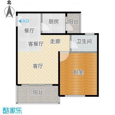 松竹苑47.16㎡4栋户型