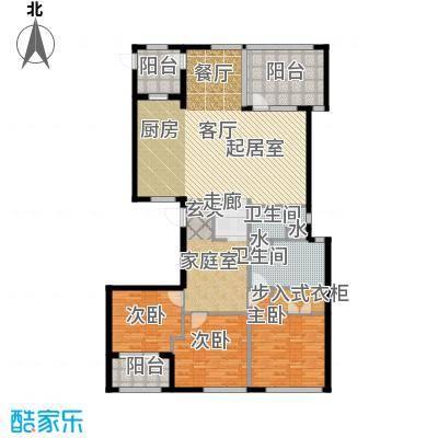 银马公寓163.00㎡房型户型