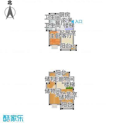 经典花苑93.54㎡+储藏室--8套户型