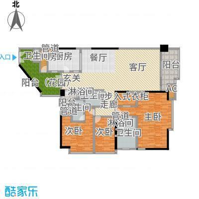 肯辛顿国际公寓01单元户型