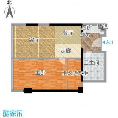 珠江时代广场95.04㎡户型