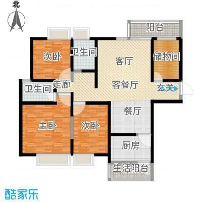 华城万象2期-彩虹城150.15㎡-户型
