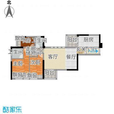 嘉宝华庭116.52㎡A06户型