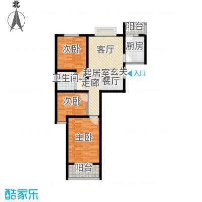 香港国际100.00㎡Z2户型