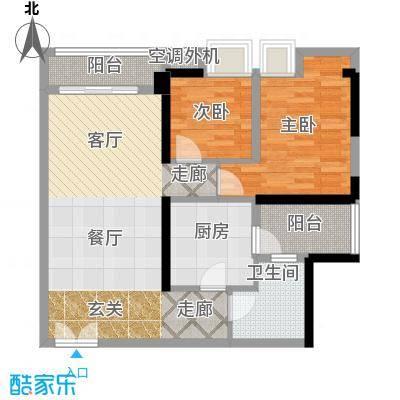 嘉宝华庭81.97㎡A01户型