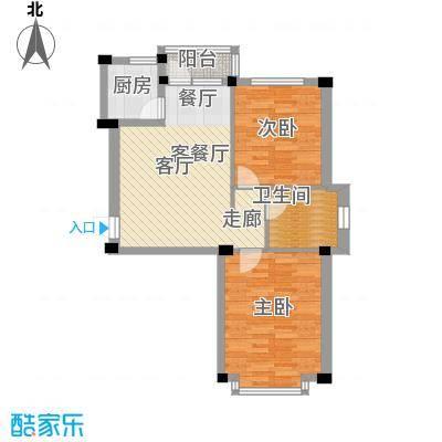 华宇凤凰城70.00㎡户型