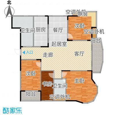 乡村花园南艳湾145.00㎡164m2户型