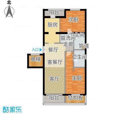 维多莉亚花园公寓135.11㎡户型