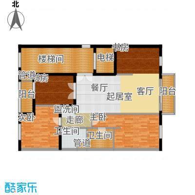 维多莉亚花园公寓136.03㎡户型