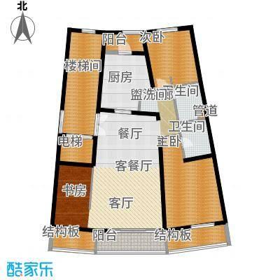维多莉亚花园公寓151.91㎡D2户型
