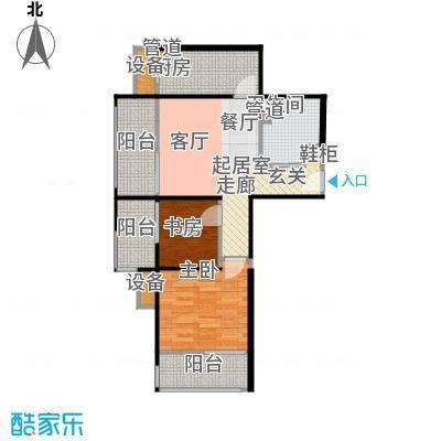 鸿坤·原乡溪谷75.68㎡鸿坤・原乡溪谷高层c户型