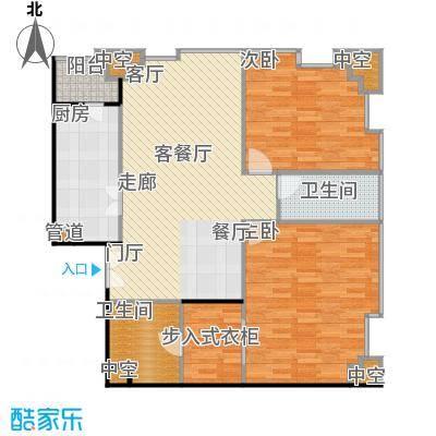 国瑞紫金阁3号公寓B1户型