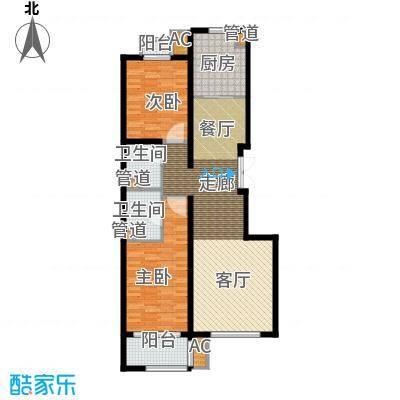 行宫·御东园103.68㎡行宫・御东园8号楼B1户型