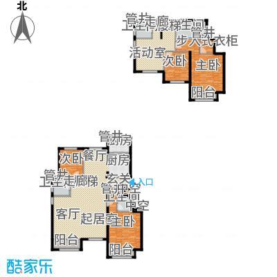 通泰·香滨城225.00㎡通泰・香滨城D-2户型