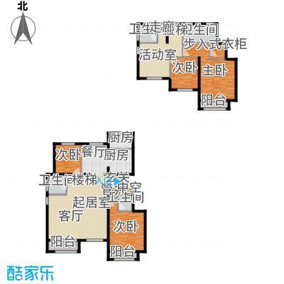 通泰·香滨城225.00㎡通泰・香滨城电梯洋房标准层D2户型